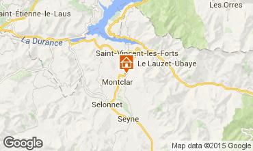 Kaart Saint Jean Montclar Studio 59268