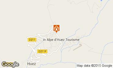 Kaart Alpe d'Huez Studio 96346