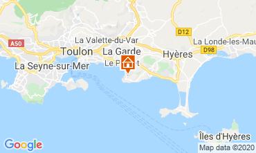 Kaart Le Pradet Huis 111738