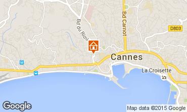 Kaart Cannes Appartement 93218