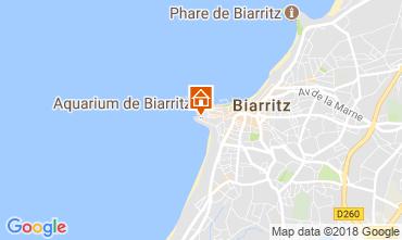 Kaart Biarritz Studio 114010