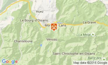Kaart Les 2 Alpes Appartement 105180