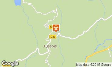 Kaart Aussois Vakantiehuis 58490