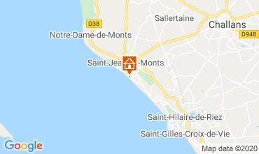 Kaart Saint Hilaire de Riez Appartement 69125