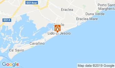 Kaart Jesolo Appartement 75928