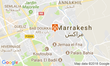 Kaart Marrakech Huis 114133