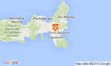 Kaart Porto Azzurro Appartement 77547