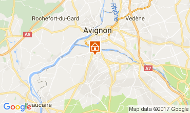 Kaart Saint Rémy de Provence Villa 111549
