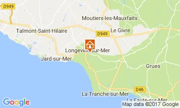 Kaart Longeville sur Mer Villa 112665