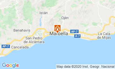 Kaart Marbella Appartement 47714