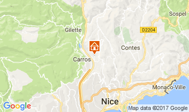 Kaart Nice Appartement 112133