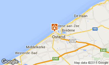 Kaart Oostende Appartement 97671