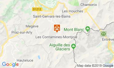 Kaart Les Contamines Montjoie Chalet 923