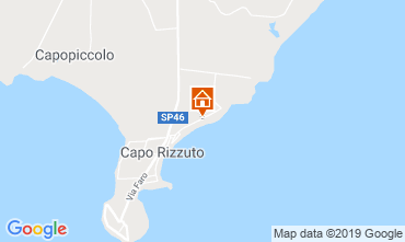 Kaart Isola di Capo Rizzuto Appartement 101730