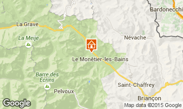 Kaart Serre Chevalier Chalet 2932