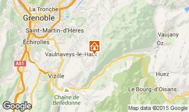 Kaart Chamrousse Chalet 39409