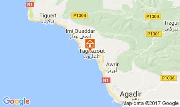 Kaart Agadir Appartement 17091