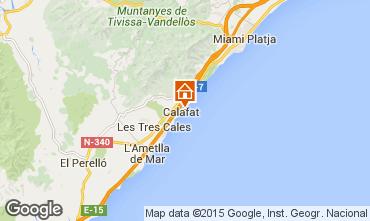 Kaart La Ametlla de Mar Villa 82763