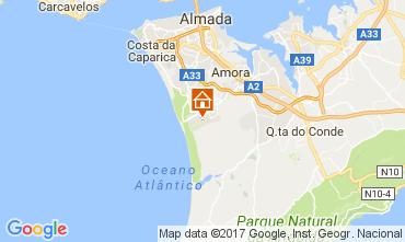 Kaart Lissabon Appartement 109987