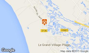 Kaart Dolus d'Oléron Huis 91338