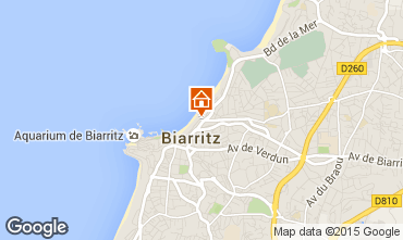 Kaart Biarritz Studio 44140