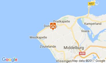 Kaart Domburg Vakantiehuis 108693