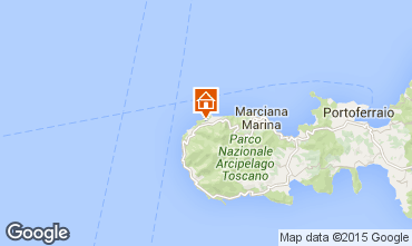 Kaart Marciana Appartement 69962