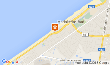 Kaart Oostende Appartement 104009