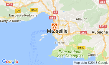 Kaart Marseille Appartement 115437