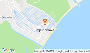 Kaart Empuriabrava Appartement 118477