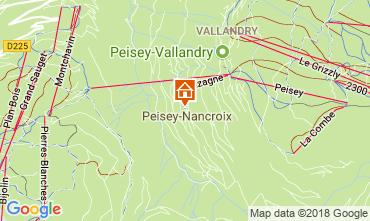 Kaart Peisey-Vallandry Appartement 114723