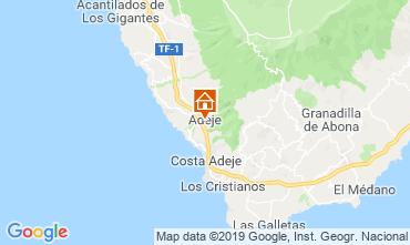 Kaart Los Cristianos Appartement 119501