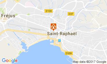 Kaart Saint Raphael Appartement 107826