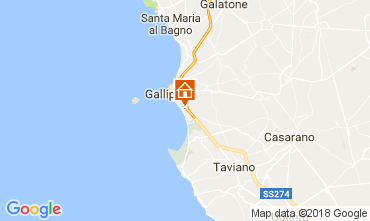 Kaart Gallipoli Appartement 108516