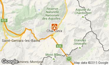 Kaart Chamonix Mont-Blanc Studio 67211
