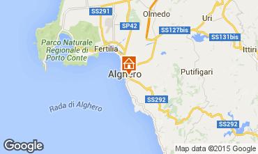 Kaart Alghero Appartement 69224