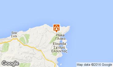 Kaart Elounda Huis 102995