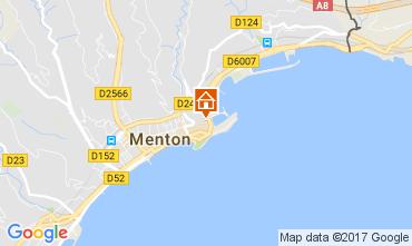 Kaart Menton Appartement 61049
