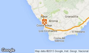 Kaart Playa de las Américas Studio 76476