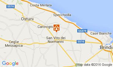 Kaart Ostuni Villa 104301