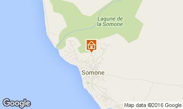 Kaart La Somone Appartement 89235
