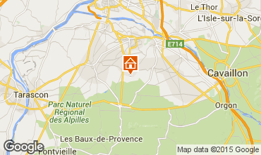 Kaart Saint Rémy de Provence Huis 60699