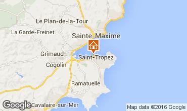 Kaart Saint Tropez Appartement 93969