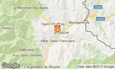 Kaart Briançon Studio 82889