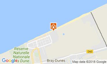 Kaart Bray-Dunes Appartement 114041