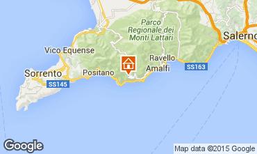 Kaart Amalfi Villa 71759