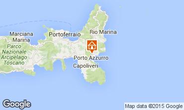 Kaart Porto Azzurro Appartement 95896