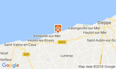 Kaart Veules-les-Roses Villa 115718