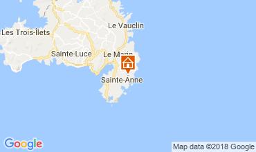 Kaart Sainte Anne (Martinique) Villa 88363