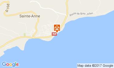 Kaart Sainte Anne(Guadeloupe) Appartement 108495